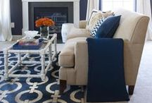 Color Inspiration {Navy} / Visit our website at gogahs.com to find more navy decor products. We are always happy to help you decorate your home. There's no place like home! #ShopGAHS #homedecor http://bit.ly/1FOGyYn