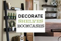 Shelves & Bookcases / Visit our website at gogahs.com to find more shelves & bookcase decor products. We are always happy to help you decorate your home. There's no place like home! #ShopGAHS #homedecor http://bit.ly/1FOGyYn