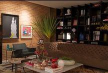 Living / Confira projetos de salas de estar com mobiliário S.C.A.!