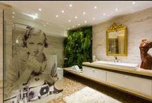 Banho / As salas de banho ganham cada vez mais espaço nas construções modernas, e os projetos S.C.A. valorizam mais ainda a peça.