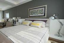 Dormitório / O refúgio pessoal deve ter, além do conforto para um pleno descanso, uma decoração que reflita a personalidade do morador. Confira ambientes planejados da S.C.A.!