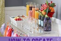 Party Cocktails / Delicious and fun cocktails for weddings, parties and entertaining! #cocktails #drinks #weddingbar #signature drinks #martini #vodka
