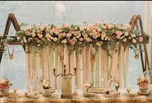 Wedding Flower Backdrops / Wedding backdrops. Floral backdrops. Photography backdrops. Ceremony backdrops #backdrop
