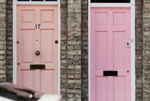 exteriors - front door