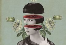 COLLAGE / Arte collage cut / by ANTONIO CHUMILLAS