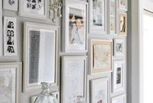 libraries & gallery walls