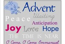 Advent Christmas / Advent Christmas ideas for ministry and home