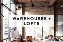 WAREHOUSES + LOFTS / Rustic and open spaces for hosting weddings, showers, dinners and all around epic DIY gatherings.