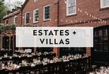 ESTATES + VILLAS / These are estates, houses, mansions and villa that are also venues that allow private events.