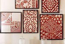 Creatief met behang / Verschillende ideeën voor behang