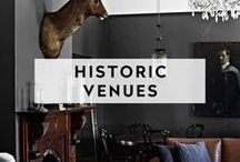 HISTORIC VENUES / Celebrate your accomplishments, milestones, and big moments in some of times most hallowed halls.