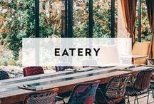 EATERY / These are restaurant venues that have outstanding interiors and design ideal for private events and parties (Not much additional decor required)
