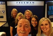 """True Blue: Life at Freeman / Behind the scenes at Freeman - a closer look at our """"True Blue"""" culture and employees"""