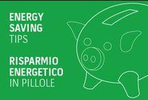 ENERGY SAVING TIPS / This board shows you how easy it is to cut your energy use at home. // Ecco alcuni piccoli consigli per risparmiare energia all'interno della propria casa!