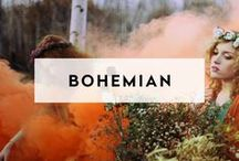 BOHEMIAN / Style for your Bohemian Venue Setting. A curated list of stylish essentials for your next celebration at a bohemian, eclectic event venue setting.