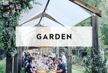 GARDEN / Style for your Garden Venue Setting. A curated list of stylish essentials and decor for your next event at a garden venue. All about Al Fresco entertaining and garden parties!