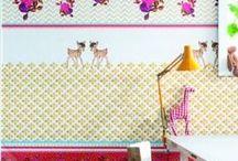 BEHANG KINDEREN/WALLPAPER KIDS / Voorbeelden van behangboeken voor kinderkamers. Verkrijgbaar bij Deco Home Bos in Boxmeer. www.decohomebos.nl