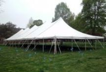Event & Wedding tents: Rope and Pole / Multiple sizes of Rope and Pole event tents for rent