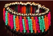 Bracelets (home made)