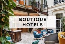 BOUTIQUE HOTELS / Small hotels for nestling up to loved ones or renting out for an epic soirée. If your looking for a wedding venue, a reception locale or maybe even an engagement party wonder spot, look no further.