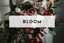 BLOOM / How does your setting impact your floral direction? Bouquets, floral installations and table design inspiration from beautiful events and gatherings in venues across the globe.