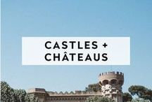 CASTLES + CHÂTEAUS / Castles, Chateaus and Manors. This is your go-to fairytale wedding dream board.