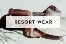 TRAVEL STYLE   RESORT WEAR / What will you wear to your getaways, gatherings, weddings & events? Inspired by palm trees, poolside cocktails, sunny days & luxe resorts. Here are our picks.
