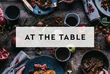 AT THE TABLE / Food and drink recipes that are great for your gatherings, parties, weddings & events. Sip, sip hooray!