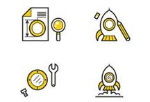 Big Drop | Icons / A collection of icons we have designed for clients.