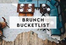BRUNCH BUCKET LIST / The best places to gather for brunch across the globe. #BrunchBucketList