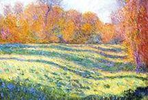 Art 3 / Camille Pissaro ,Claude Monet, Vincent van Gogh.