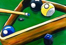 Billiards decor / by Robert Peuplie