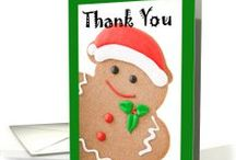 Christmas | Thank You Cards / Cards for post-Christmas thank you notes & other ideas