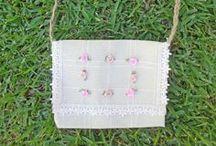 Handmade bag / handmade bag display