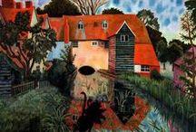 Dora Carrington / Dora de Houghton Carrington (Hereford, 29 marzo 1893 – Ham, 11 marzo 1932) pittrice e decoratrice artistica britannica.