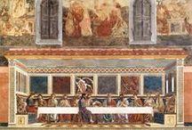 Andrea del Castagno / Andrea di Bartolo di Bargilla detto Andrea del Castagno (Castagno, 1421 circa – Firenze, 1457) pittore italiano