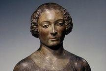 Andrea del Verrocchio / Andrea di Michele di Francesco di Cione detto Il Verrocchio (Firenze, 1435[1] – Venezia, 1488) scultore, pittore e orafo italiano. Fu attivo soprattutto alla corte di Lorenzo de' Medici.