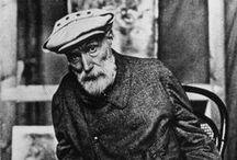 Pierre-August Renoir / Pierre-Auguste Renoir (Limoges, 25 febbraio 1841 – Cagnes-sur-Mer, 3 dicembre 1919) un pittore francese, tra i massimi esponenti dell'Impressionismo.