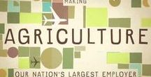 Careers in Agriculture / Agriculture has a variety of careers to choose from. You don't just have to be a farmer. You can be an engineer, in marketing, or even in IT.
