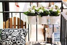 mini balcony decoration