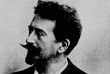 Félicien Joseph Victor Rops / Félicien Joseph Victor Rops (Namur, 7 luglio 1833 – Essonnes, 23 agosto 1898) pittore, incisore e disegnatore belga.