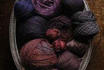 Beautiful yarns / Want these so bad!