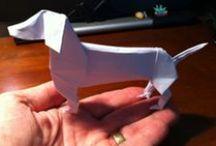 Origami / Paper - A Piece Of Art / Kunst Van Vouwen