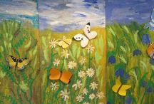 Kuvis kevät - Spring art