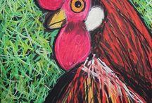 Kuvis eläimet - Animal art