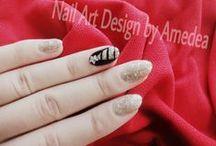 Nail Art Design by Amedea / my work <3  www.myhappynails.wordpress.com