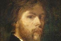 Gustave Moreau / Gustave Moreau (Parigi, 6 aprile 1826 – Parigi, 18 aprile 1898) pittore francese. Fu precursore di Simbolismo e Surrealismo.