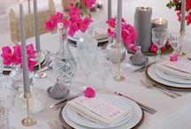 Elegant Country Club Wedding (Catherine & Chris) / Photo credit: Jose Villa