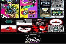 Pescoran • Art / Featuring random art by John PESCORAN