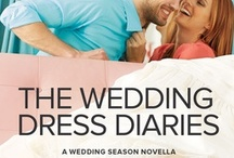 Prequel Novella: The Wedding Dress Diaries by Aimee Carson / Bridal shop owner Amber Davis dreaded the moment she'd run in to Parker Robinson while working on his sister's wedding. She'd spent every summer in the Hamptons with his family as a kid, fantasizing about kissing him. But she's shocked to discover that the confident boy who'd given Amber her first taste of love has become a man who mocks its very existence.. Out on June 1st download it free from Harlequin's website here: http://bit.ly/18D1Z1q #HarlequinKISS #romance #sexy